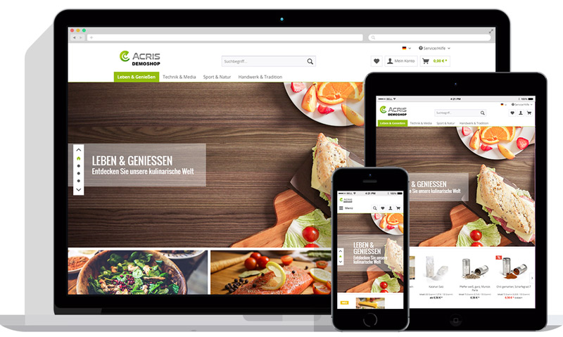 Wir sind der richtige Shopware Partner für Sie. Testen Sie Shopware 5.5 in einer Testumgebung