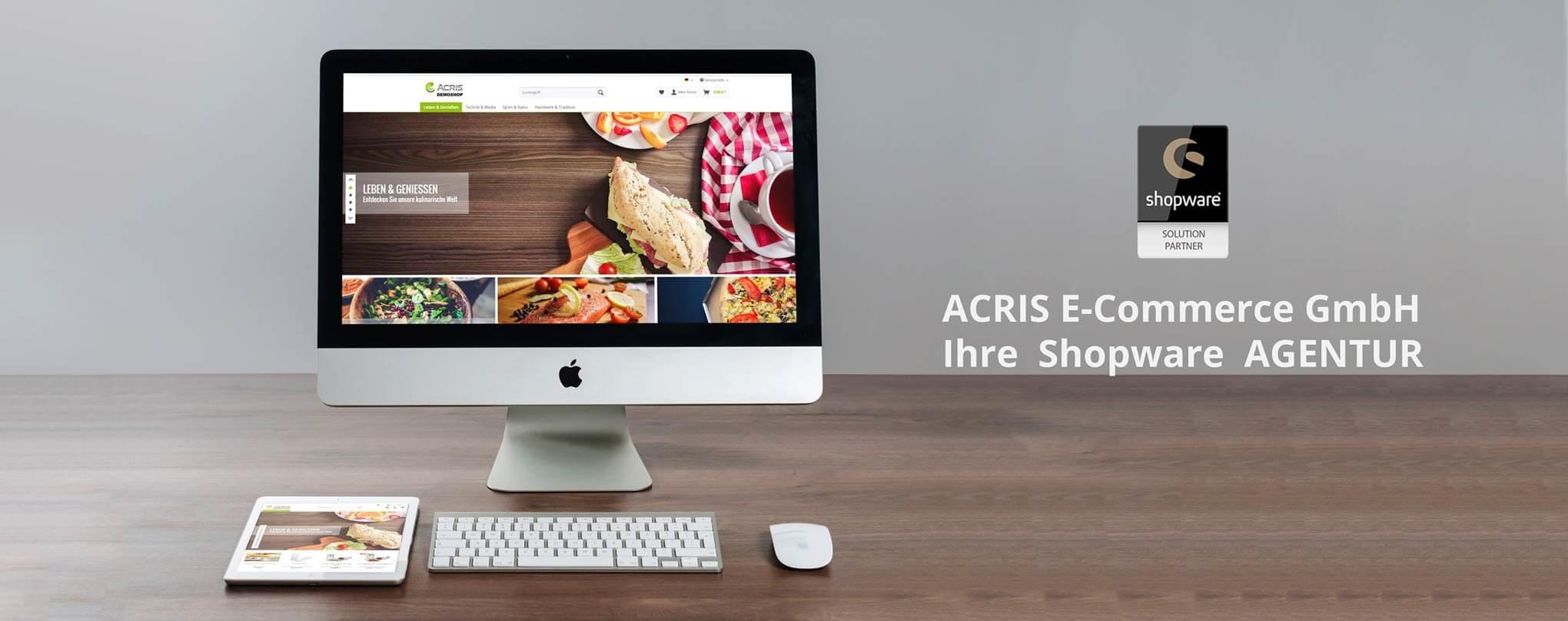 Onlineshop Agentur ACRIS