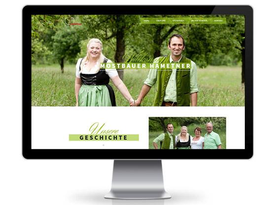 Mostbauer Hametner Website