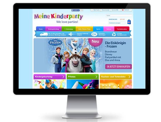 meinekinderparty Shopware Webshop