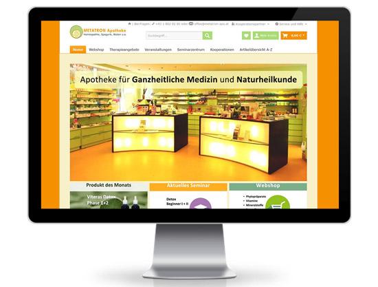 Metatron Apotheke Shopware Webshop