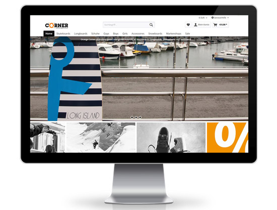 Orange Corner Shopware Webshop