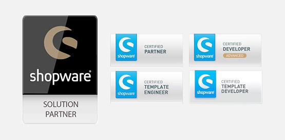 Als zertifizierter Shopware Partner steht Ihnen ein kompetentes Team bei allen Belangen zur Verfügung.