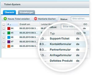 Shopware Ticketsystem