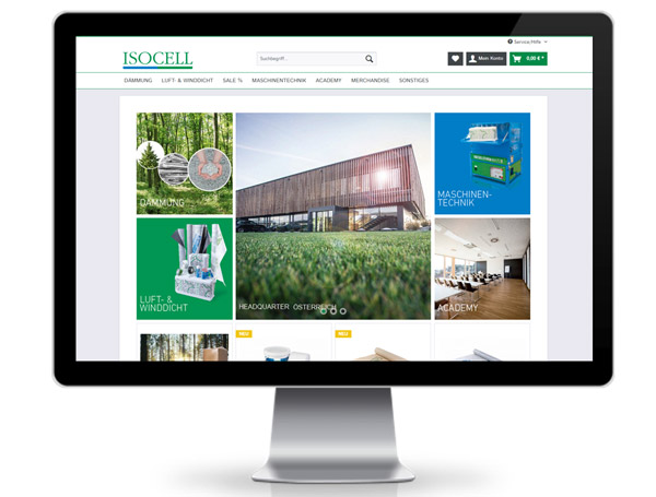 Isocell Webshop Shopware
