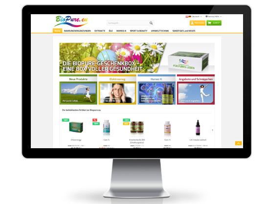 biopure Webshop