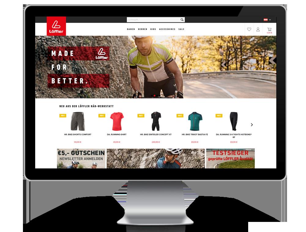 Löffler Shopware Responsive Webshop
